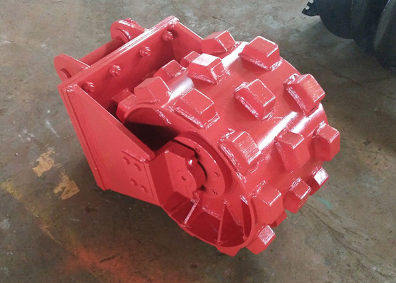 China Replaceable Pick Up Joint Compaction / Compactor Wheel For Excavator Step Design distributor