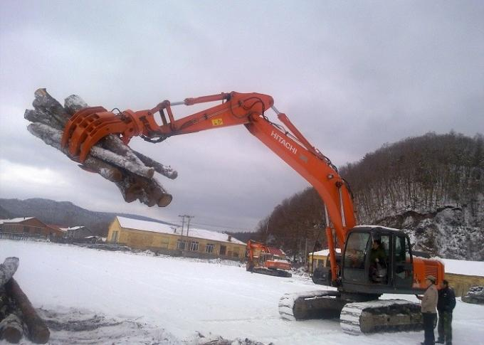 Seven Tooth Rotate Wood Grapple / Timber Grapple for Hitachi EX230 Excavator